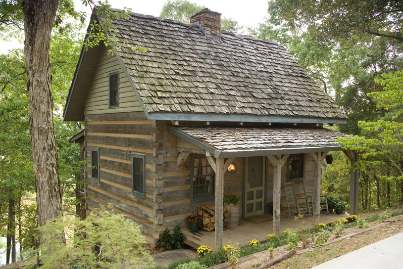 Hand hewn log homes for boot ranch for Hewn log cabin kits