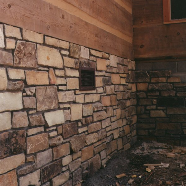 Covering Foundation Walls : Hearthstone log and timber frame homes fastrack plans