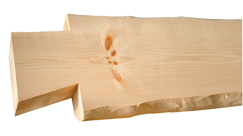 Picture of Eastern White Pine - Timberlake - Planed Smooth with Natural Shaped Edges
