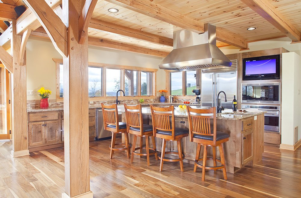 Cost log home vs timber frame home hearthstone homes for A frame home cost