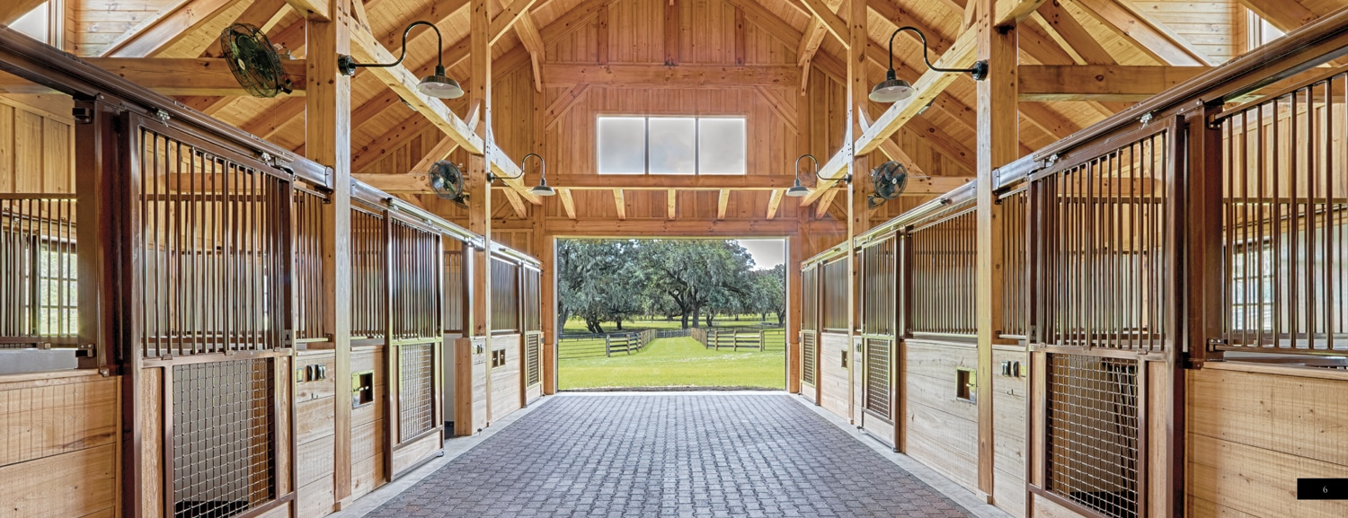 Timber frame horse barn plans designs by hearthstone homes for Timber frame plans for sale