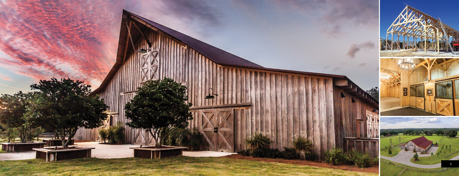 Timber Frame Horse Barn Plans & Designs by Hearthstone Homes