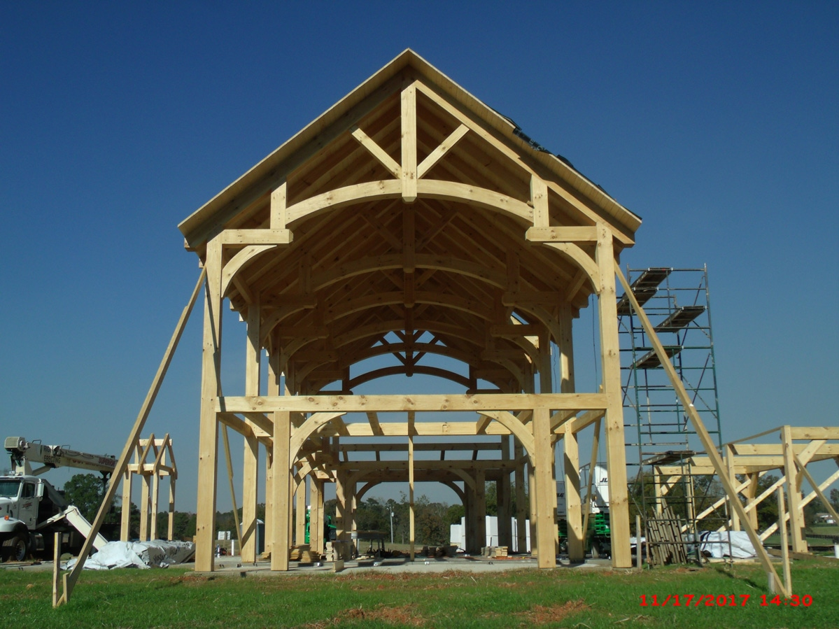 March Timber Frame Of The Month | HearthStone Homes