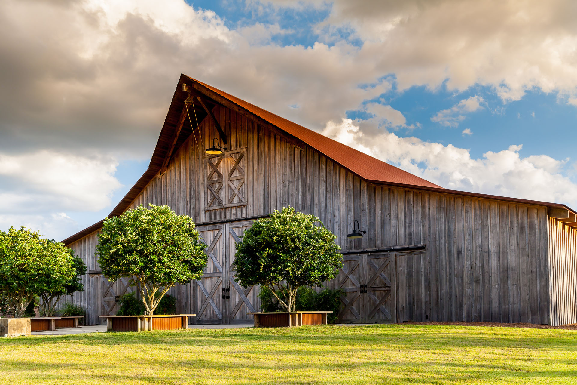Hearthstone introduces new custom barn collection for Log barn homes