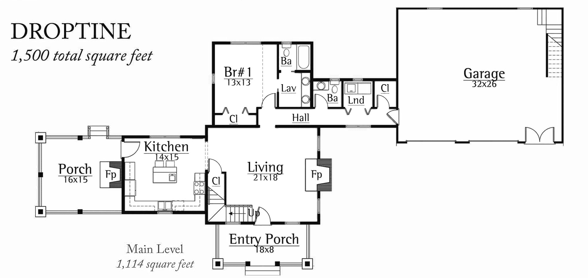 Floor Plans: Droptine
