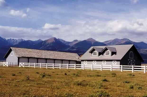 Log & Timber Frame barns