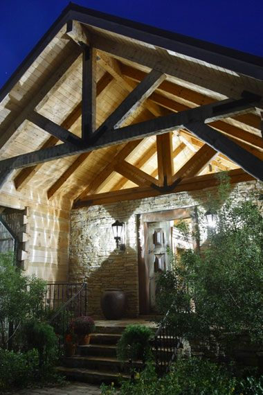 log home builder quote