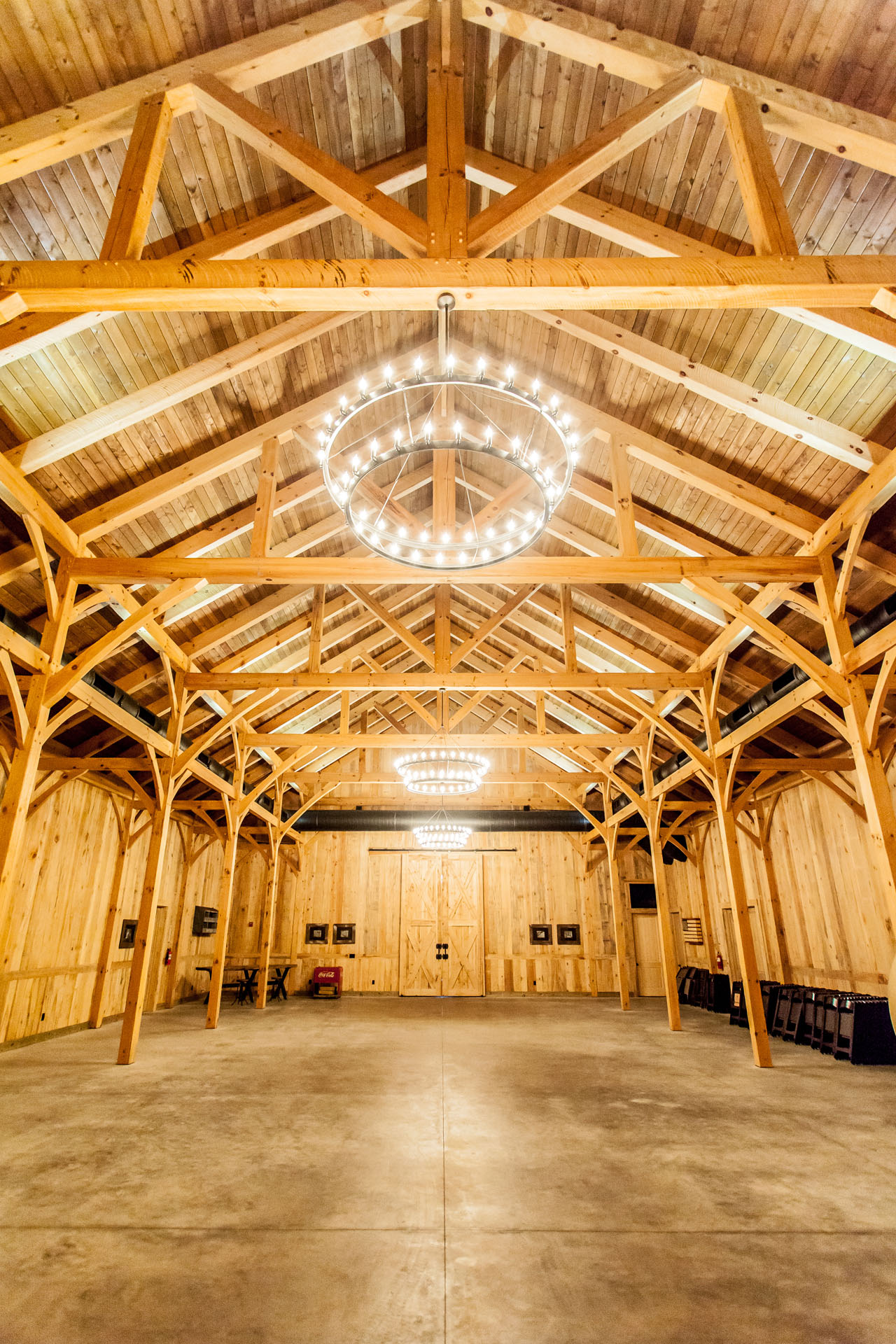Timber frame horse barn plans designs by hearthstone homes for Timber frame barn home plans