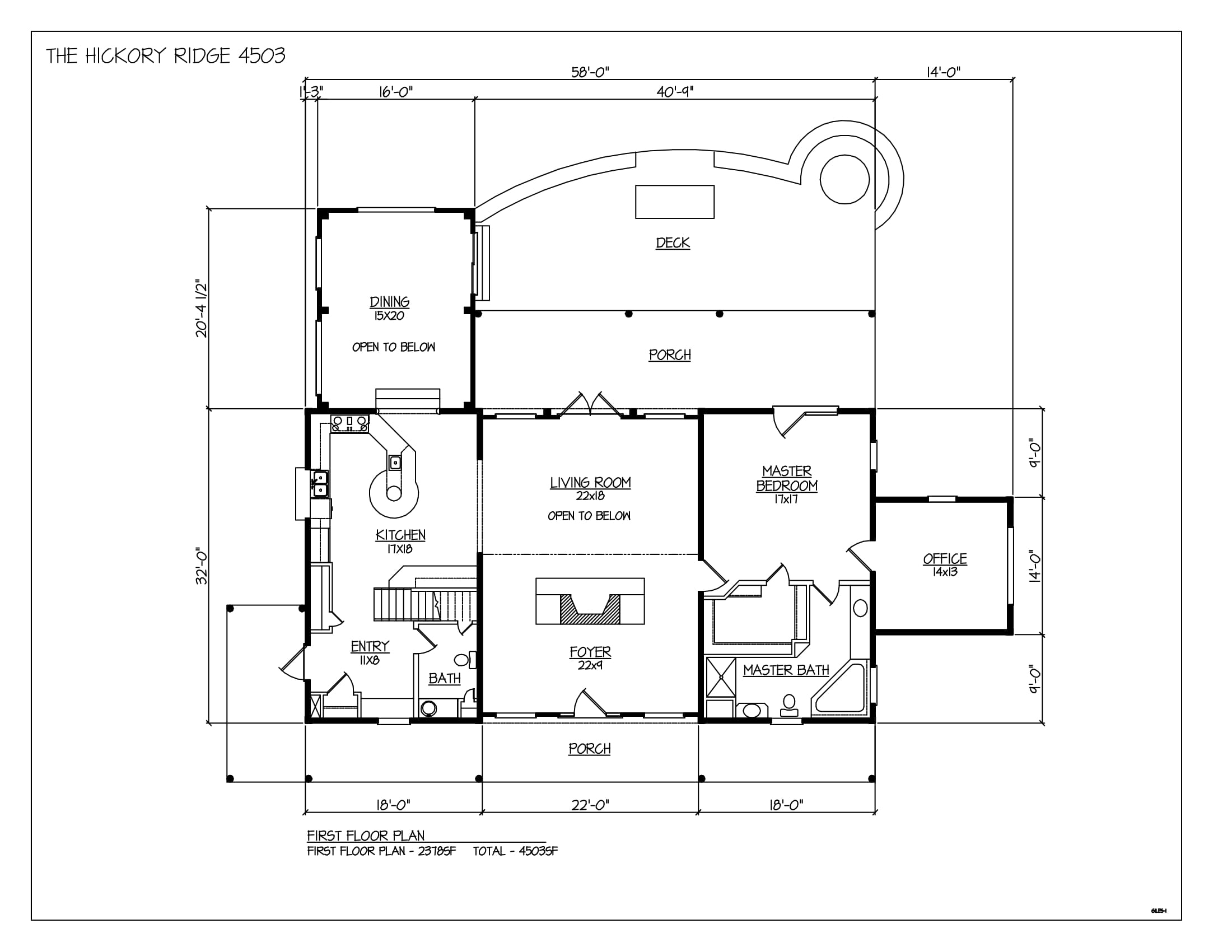 The hickory ridge hearthstone homes for Hearthstone homes floor plans
