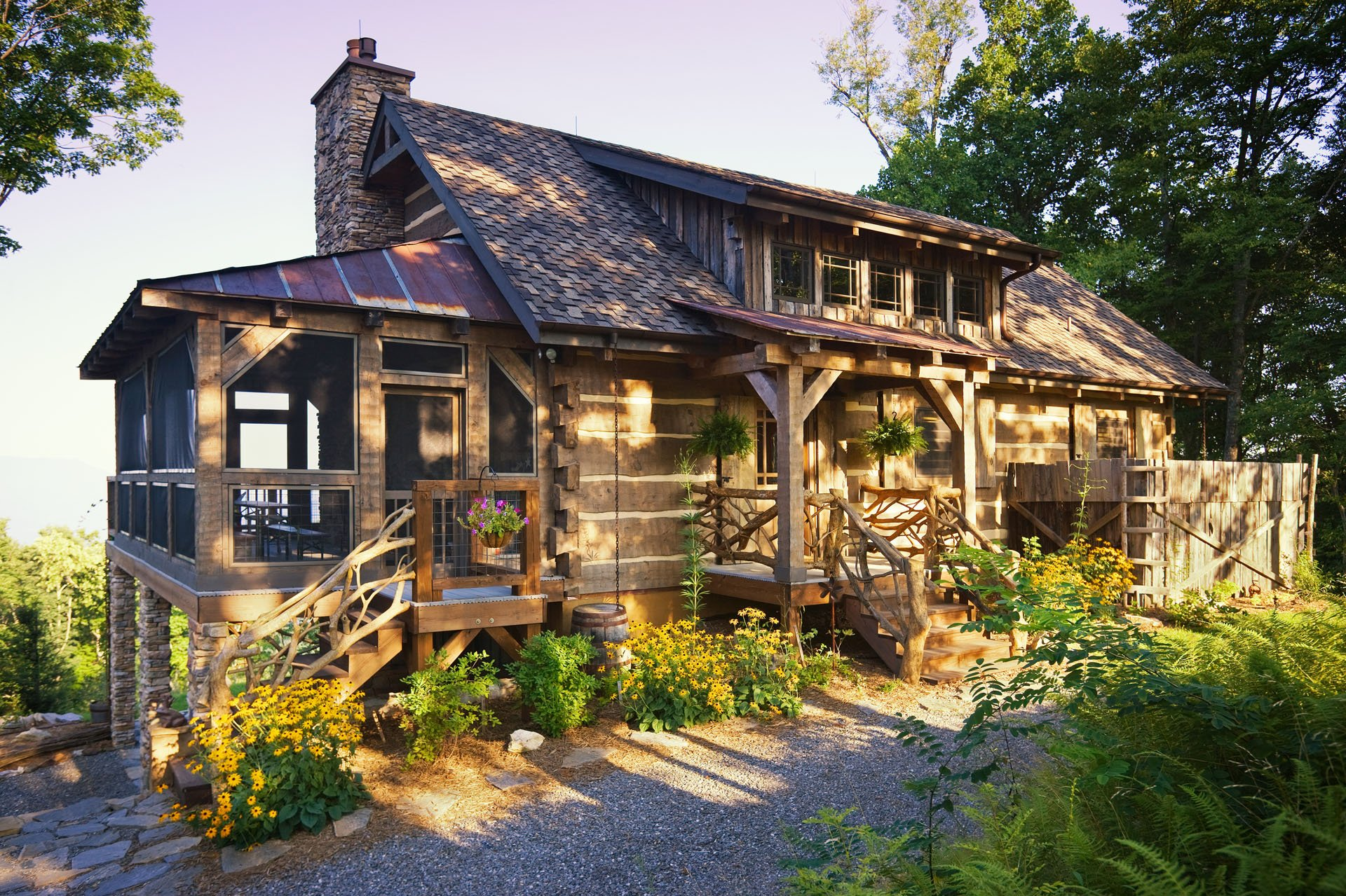 Luxury log homes and hand hewn homes hearthstone homes inc for Hewn log cabin kits