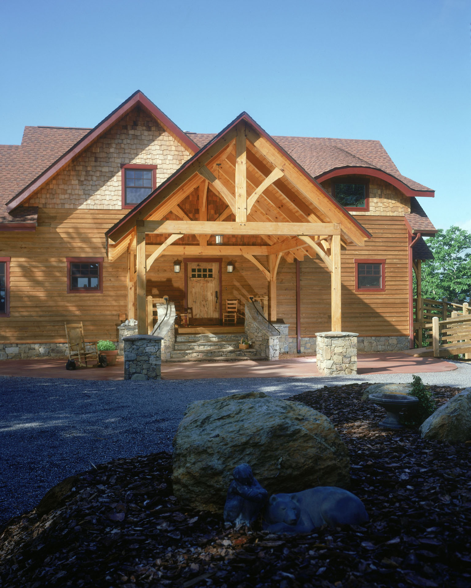 Timber Frame Log Homes
