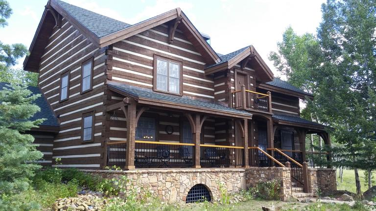 Peterson Log Home