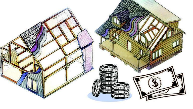 cost log home vs timber frame home