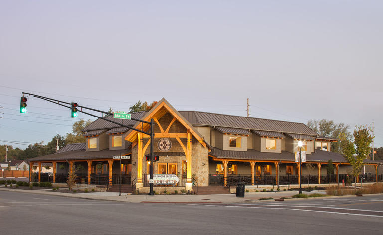 Log & Timber Frame Commercial Structures