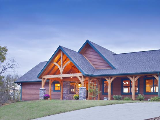 Timber Frame Homes by Hearthstone Homes