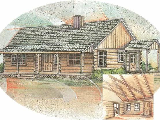 Log cabin home timber frame floor plans