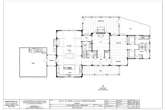 The jackson timber frame hearthstone homes for Hearthstone homes floor plans