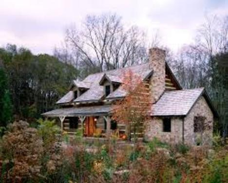 Hand Hewn Home Gallery: Bowles Retreat | HearthStone Homes