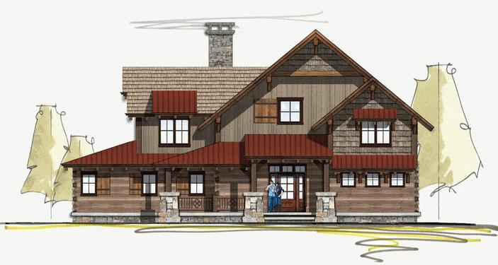 Luxury Log Homes and Hand Hewn Homes