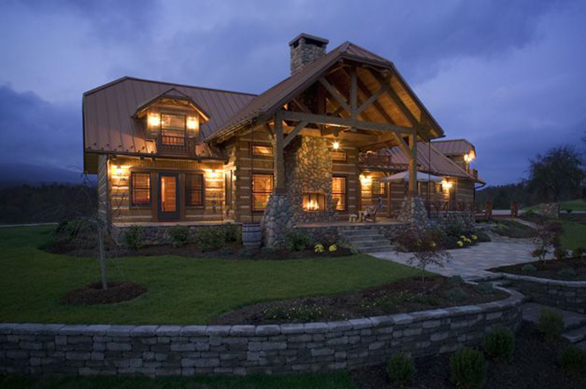 Wendland timberwright tennessee hearthstone homes for House plans nashville tn